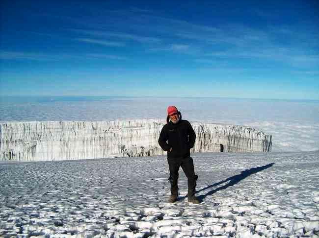 Decken Glacier on the south...