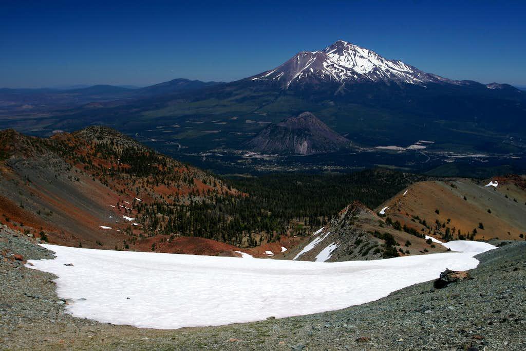 Mount Shasta from Mount Eddy
