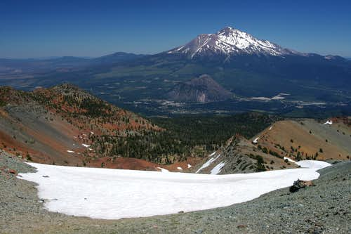 Mount Shasta from Mount Eddy
