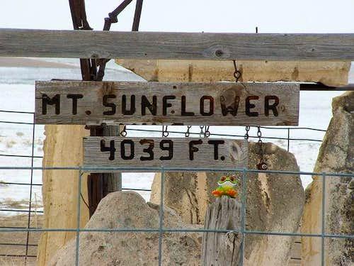 A winter summit of Mt....