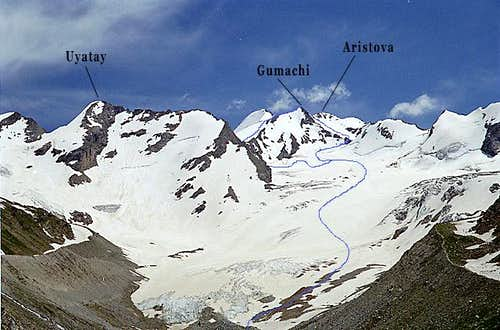 South-West Rockface (Gumachi)