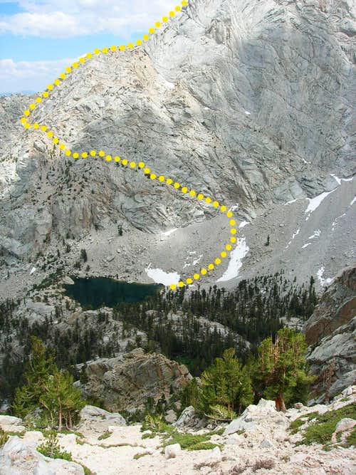 Candlelight Peak - East Ridge Route