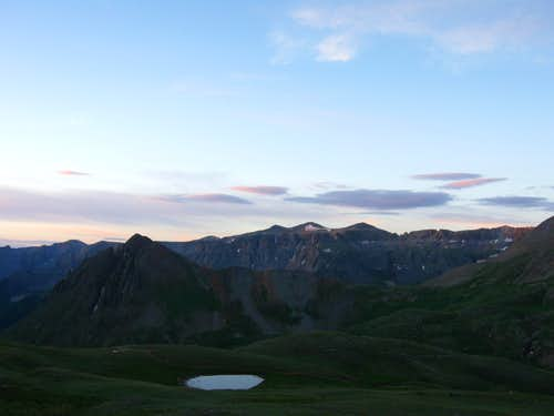 Dawn on Yankee Boy Basin