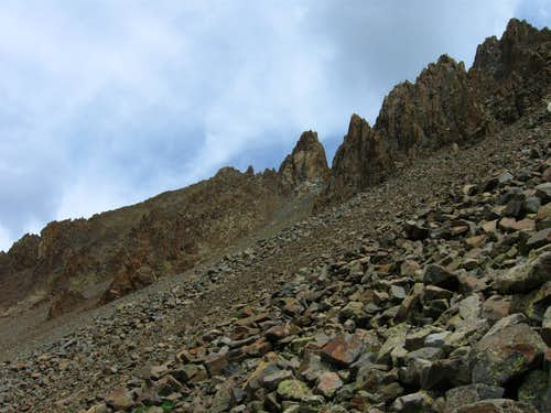 Endless talus...