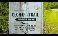 Olomana Trail Entrance
