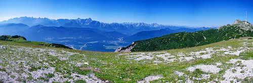 Julian Alps and Dobratsch