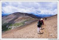 Skirting Mt. Cameron en route...