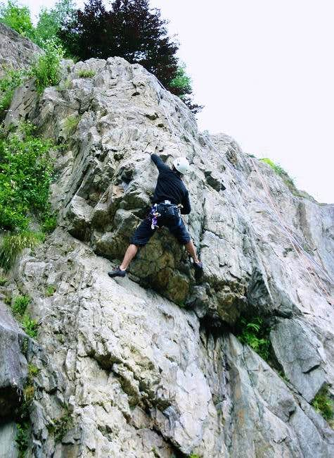Clarity at the crux of a 6a...
