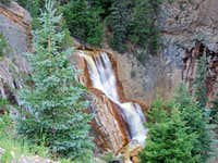 Red Mountain Creek Falls