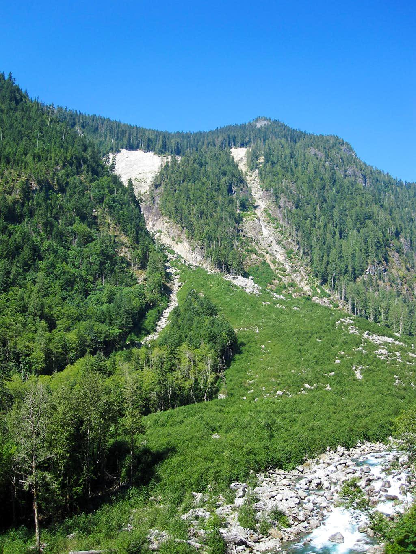 Trappers landslide
