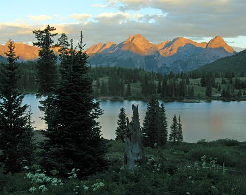 Molas Lake Scenery