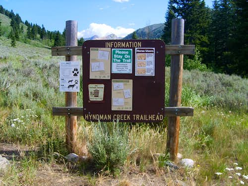 Hyndman Creek Trailhead
