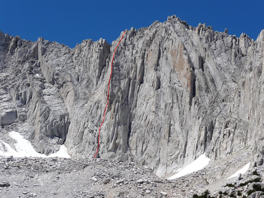 Ruby Wall East Arete
