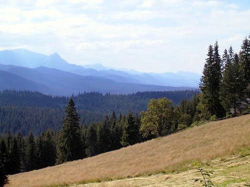 Tatras from Pieniny