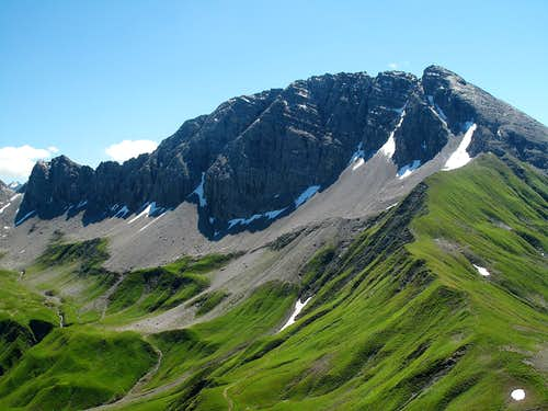 The Rüfispitze (2632m)