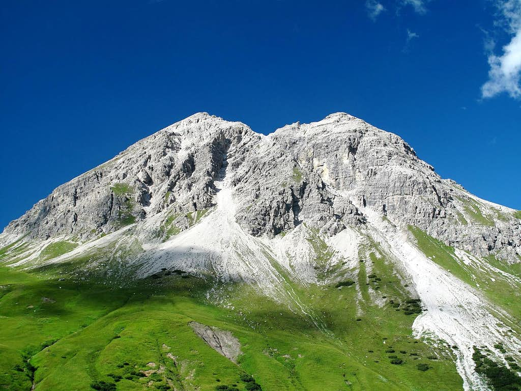 The Rüfispitze from the south