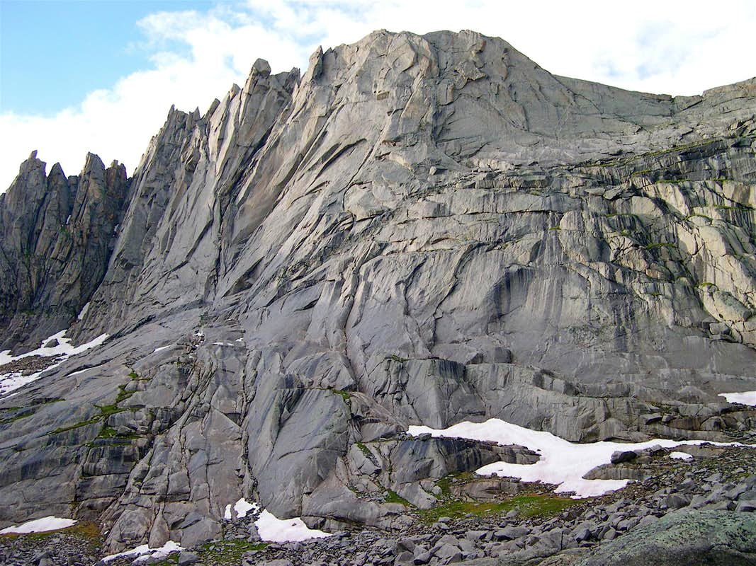 South Face Of Wolfs Head
