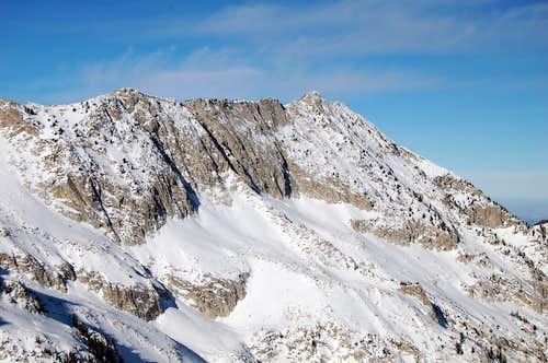 North Thunder Mtn in Winter