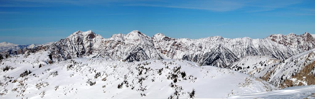Cottonwood Ridge in Winter