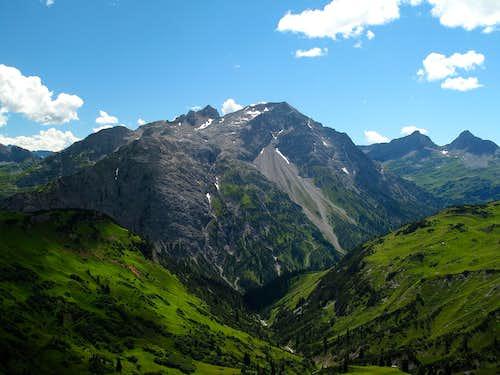 The Spullerschafberg (2679m)