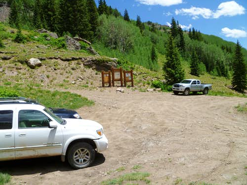 4wd Matterhorn Creek Trailhead