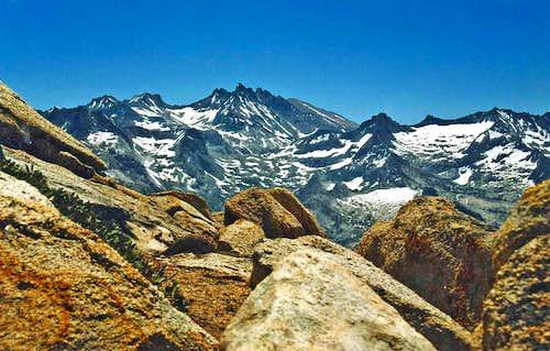 Black Kaweah from Alta Peak