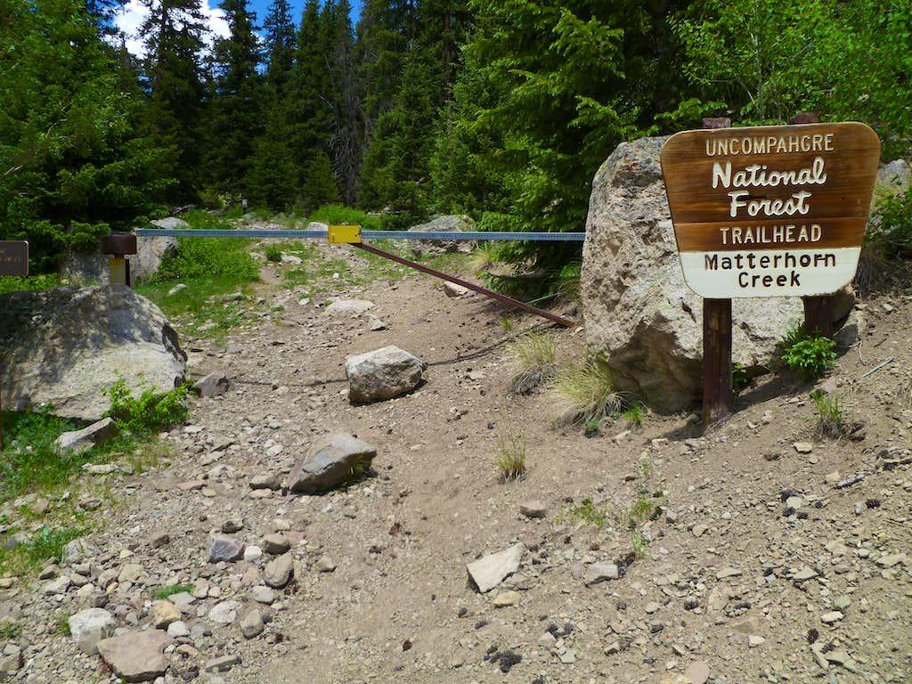 Matterhorn Creek Tralhead