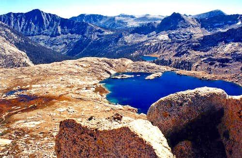 Southwest from Sawtooth Peak