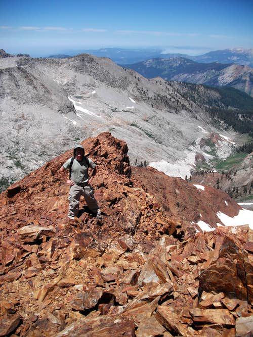 Vandever NW ridge 9