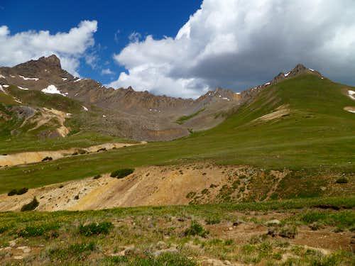 Wetterhorn Peak and Matterhorn Peak from the Southeast