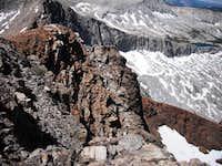 West ridge of Falcon