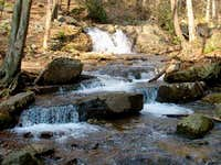 One of the creeks along the...
