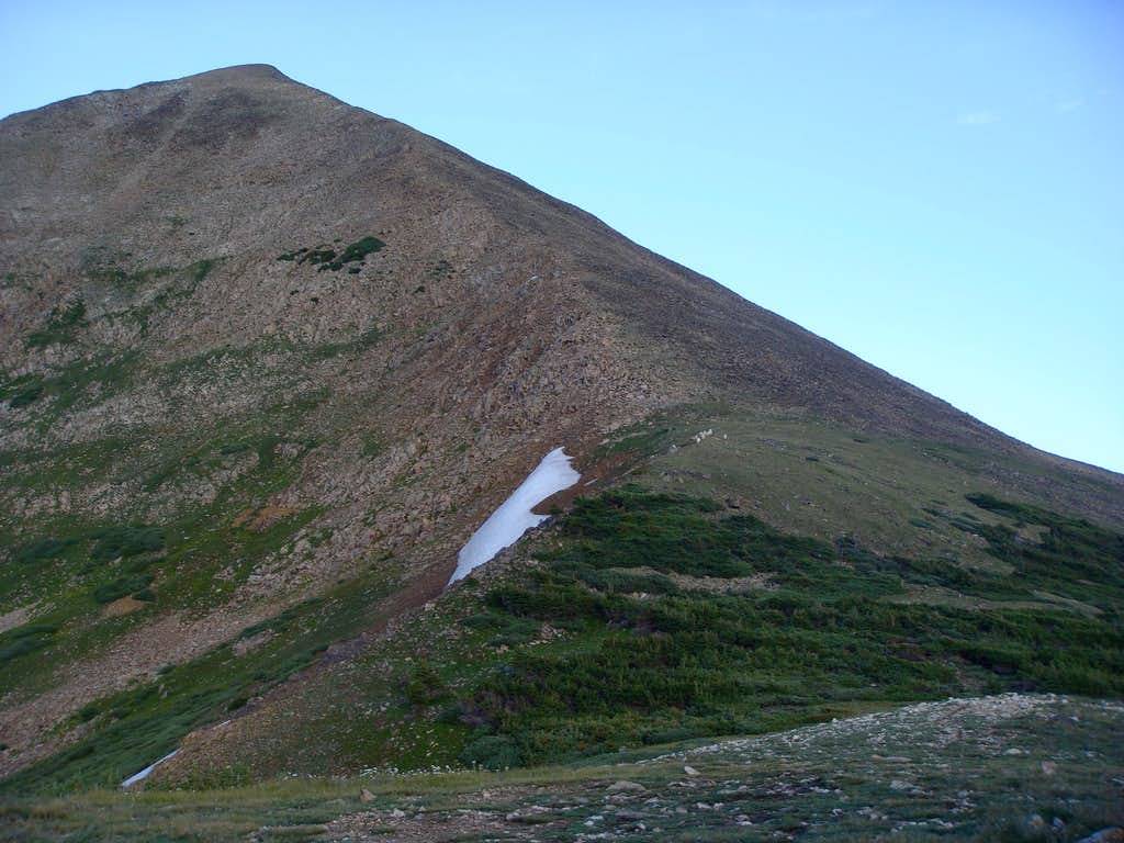 Mt. Guyot East Ridge from the base