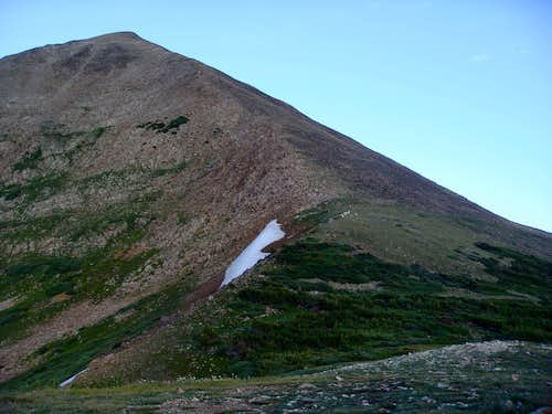 Mt. Guyot East Ridge from the base
