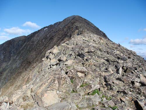 Final ridge hike - Guyot East Ridge