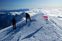 Mont Blanc - Gouter route solo 2009