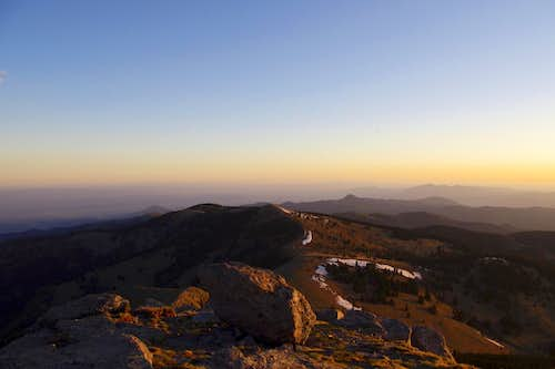Sunrise on Sierra Blanca