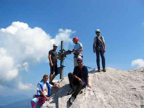 Totenkirchl summit