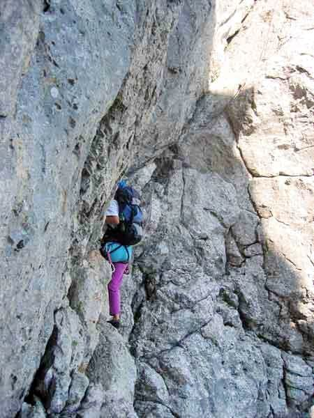 Climbing the Heroldweg