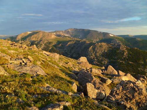 Fall Mountain and Comanche Peak