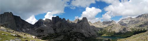 Cirque of Towers Panorama