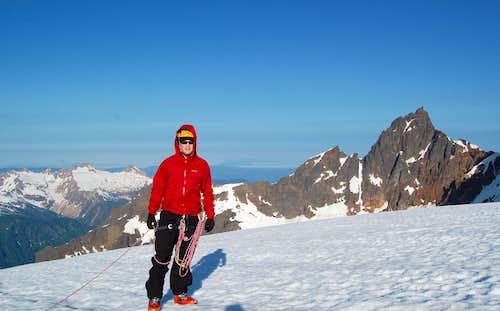 Mt Baker's Easton Glacier