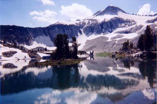 NE face of Glacier Peak from...