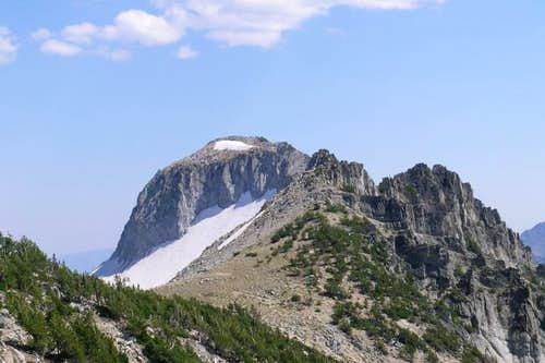 First View of Glacier Peak...