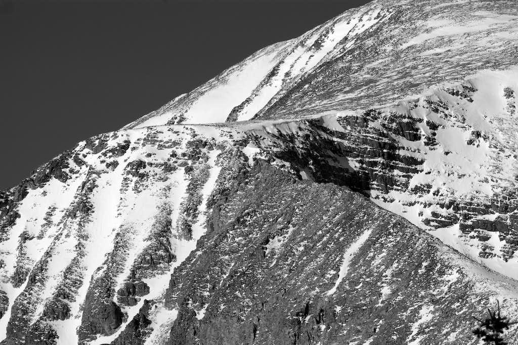 SE Ridge of Audubon