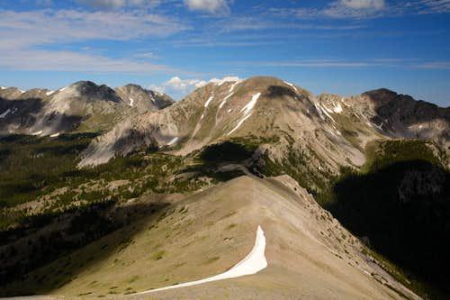 Truchas Peaks from Chimayosos Peak