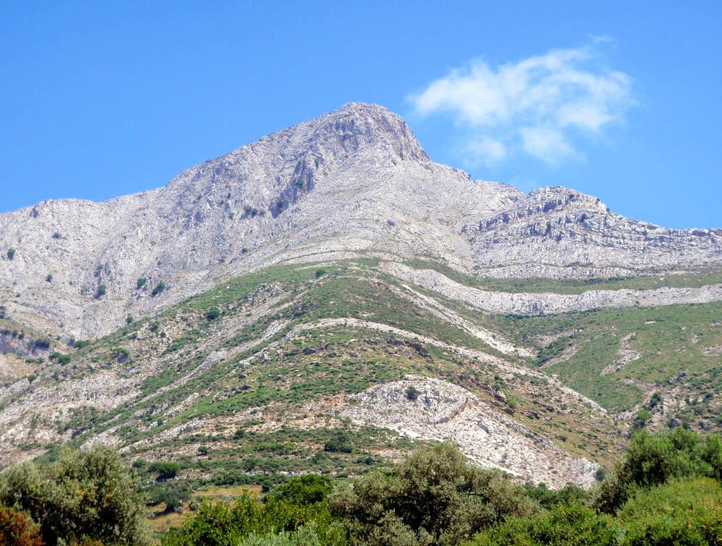 Mount Zues West Face