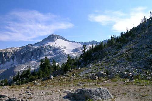 Glacier Peak from near...