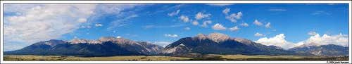 Mt. Princeton and surrounding...
