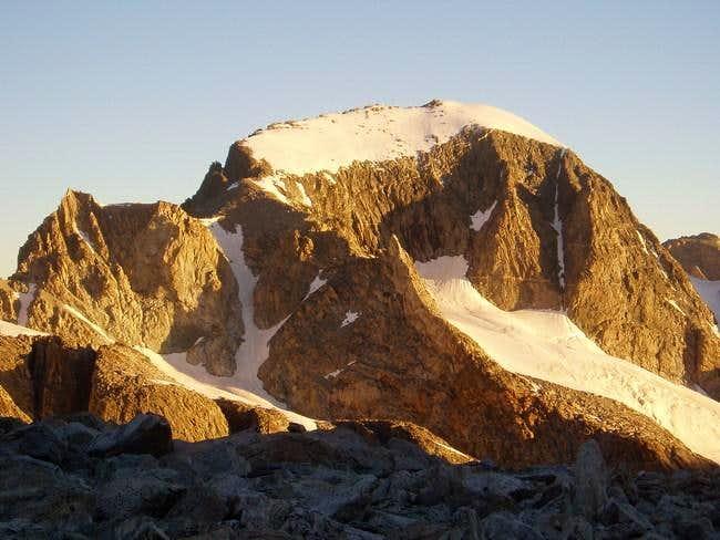First view of Gannett Peak...
